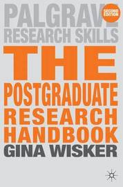 The Postgraduate Research Handbook by Gina Wisker image