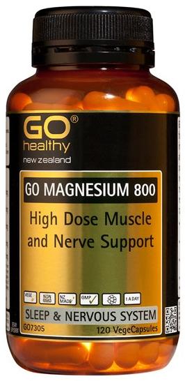 Go Healthy: GO Magnesium 800 (120 Capsules)
