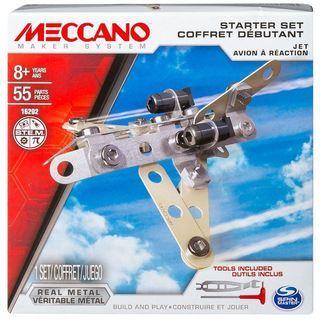 Meccano: 1 Model Starter Set - Jet