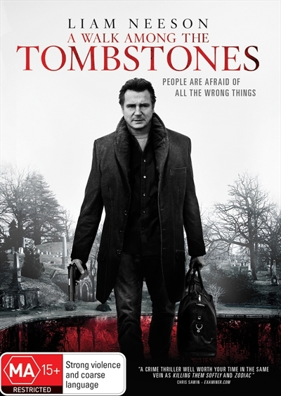 A Walk Among the Tombstones on DVD