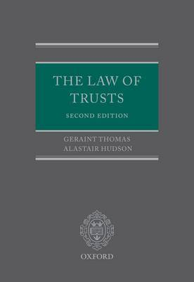 The Law of Trusts by Geraint Thomas image