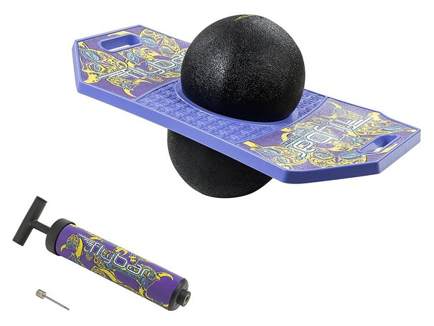 Flybar: Pogo Trick Board - Purple Masked