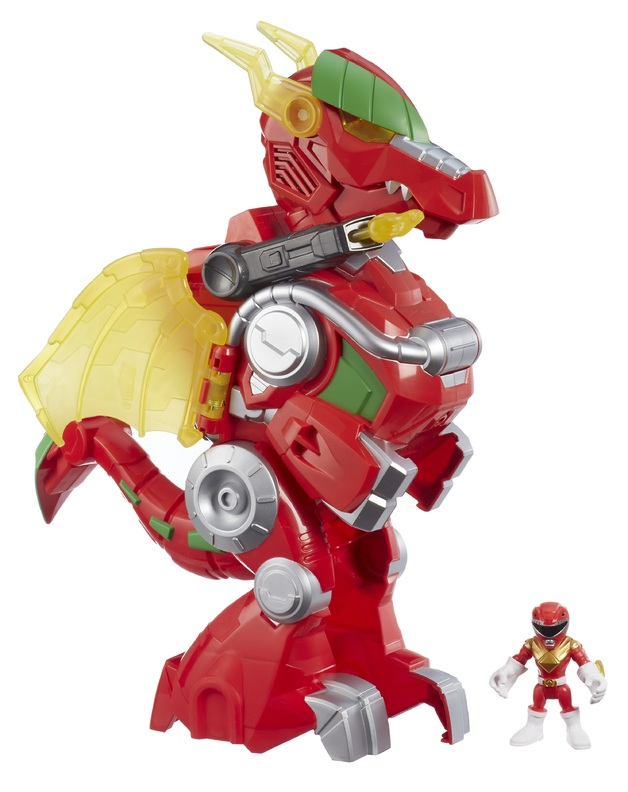 Playskool Heroes: Power Rangers - Red Ranger & Dragon Thunderzord