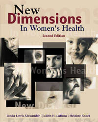 New Dimensions in Women's Health by Linda Lewis Alexander image