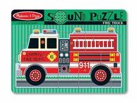 Melissa & Doug: Fire Truck Sound Puzzle