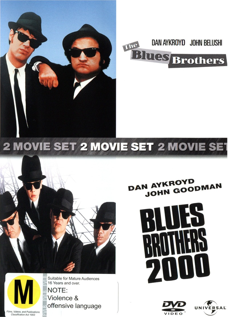 Blues Brothers / Blues Brothers 2000 - 2 DVD Movie Pack (2 Disc Set) on DVD image