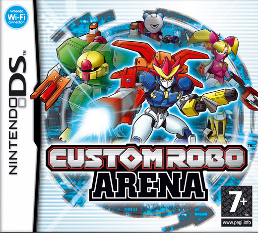 Custom Robo Arena for Nintendo DS