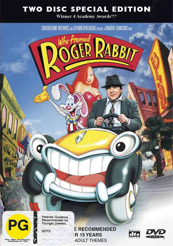 Who Framed Roger Rabbit? - Special Edition (2 Disc Set) on DVD