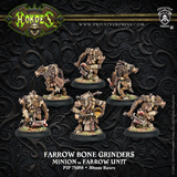 Hordes: Minions Farrow Bone Grinders Unit (White Metal)