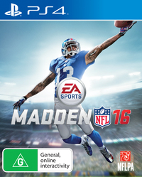 Madden NFL 16 for PS4