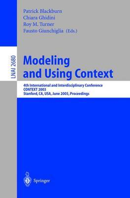 Modeling and Using Context image