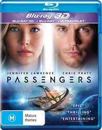 Passengers (2016) on Blu-ray, 3D Blu-ray