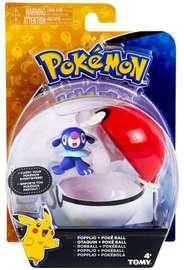 Pokémon: Popplio & Poke Ball - Clip n Carry Set
