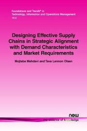 Designing Effective Supply Chains in Strategic Alignment with Demand Characteristics and Market Requirements by Mojtaba Mahdavi image