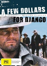 A Few Dollars for Django on DVD