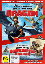How to Train Your Dragon - Dragon Double DVD Pack on DVD