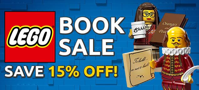 LEGO Book Sale