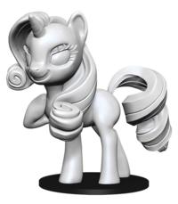 My Little Pony: Deep Cuts Unpainted Miniature - Rarity