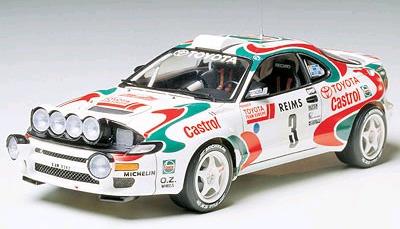 Tamiya Celica GT-4 '93 Monte Carlo Rally 1:24 Kitset Model image
