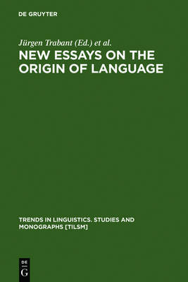 the origin of language essay Language origin hypotheses early speculations i cannot doubt that language owes its origin to the imitation and modification, aided by signs and gestures.
