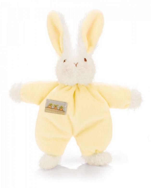 Sweet Hops Bunny Rattle - Yellow