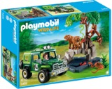 Playmobil - Jungle Animals with Researcher and Off-Road Vehicle (5416)