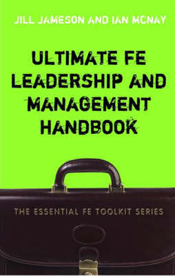Ultimate FE Leadership and Management Handbook by Jill Jameson image