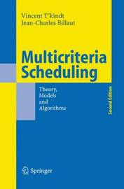 Multicriteria Scheduling by Vincent T?kindt