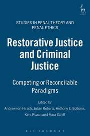 Restorative Justice and Criminal Justice image