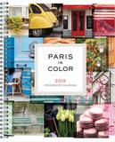 Paris in Color 2018 Weekly Diary by Nichole Robertson