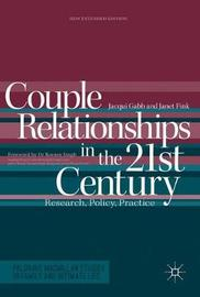 Couple Relationships in the 21st Century by Jacqui Gabb image