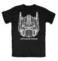Transformers: Optimus Prime - Logo Mens T-Shirt (Medium)