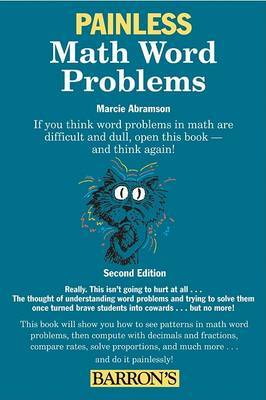 Painless Math Word Problems by Marcie F. Abramson image