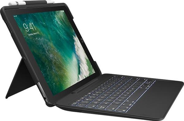 "Logitech SLIM COMBO Keyboard Folio for iPad Pro 10.5"" - Black"
