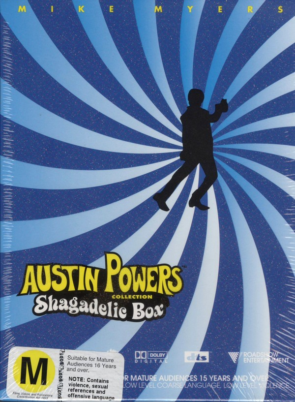 Austin Powers Triple Pack - Threesome on DVD image