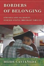 Borders of Belonging by Heide Castaneda image