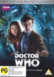Doctor Who: The Complete Fifth Series on DVD