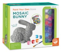 Mindware Create: Paint Your Own Stone - Mosaic Bunny image
