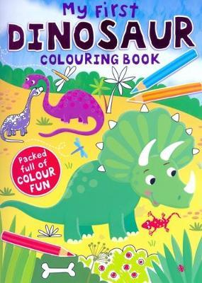 My First Dinosaur Colouring
