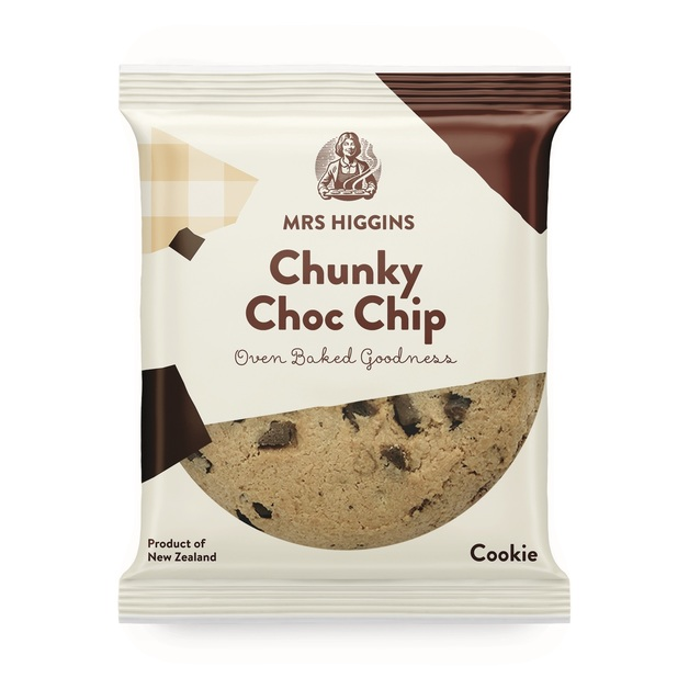 Mrs Higgins: Chunky Choc Chip Cookie (100g) Pack of 9