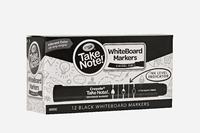 Crayola: Take Note - Whiteboard Markers - Black (12 Pack)