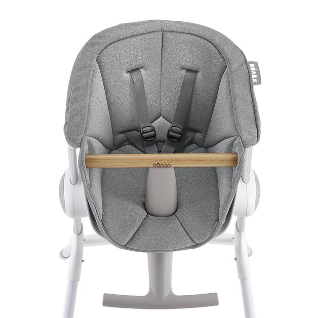 Beaba: Up & Down High Chair Seat Cushion - Grey