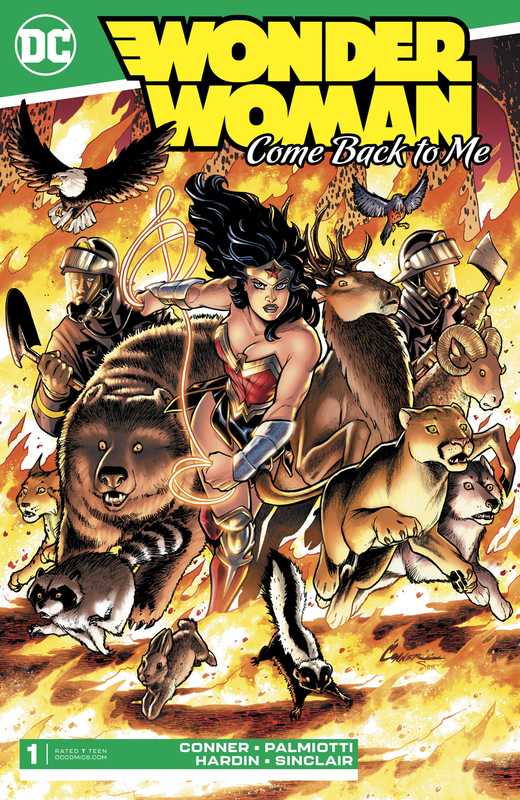 Wonder Woman: Come Back To Me - #1 (Cover A) by Amanda Conner