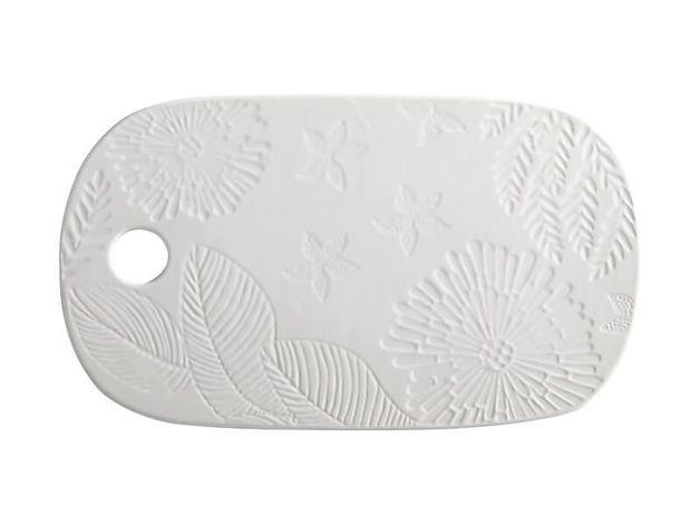 Maxwell & Williams: Panama Cheese Platter - White (40x23cm)