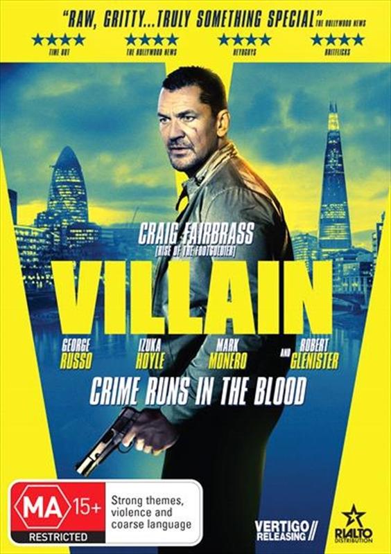 Villain on DVD