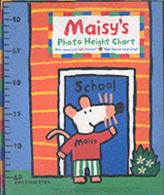 Maisy's Photo Height Chart by Lucy Cousins image