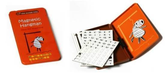 To Go: Magnetic Travel Game - Hangman