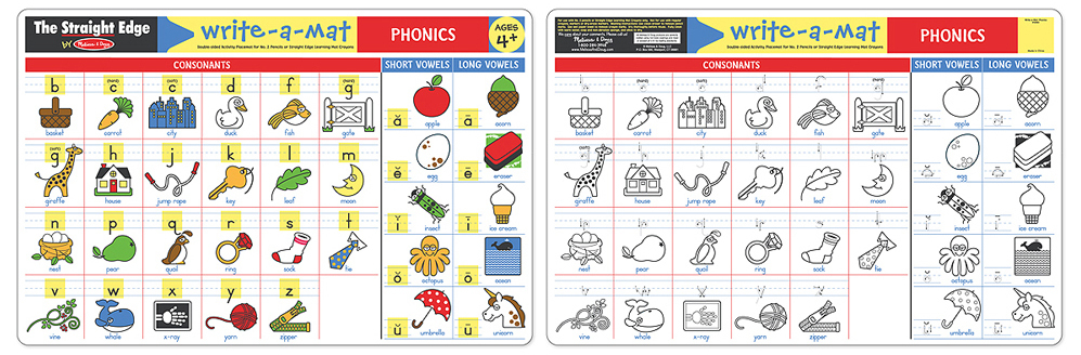 Melissa & Doug: Phonics Write-a-Mat image