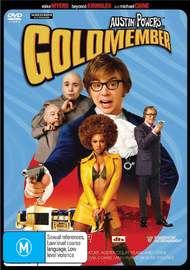 Austin Powers - Goldmember on DVD image