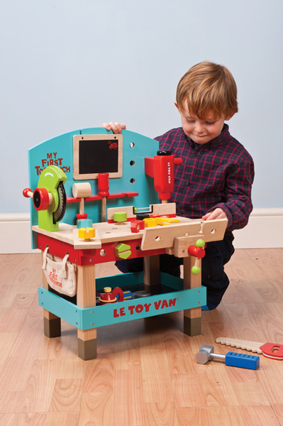 Le Toy Van: Wooden Tool Bench Play Set image